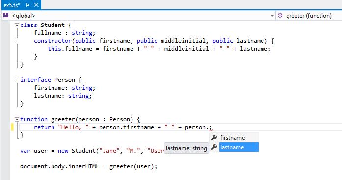 Visual Studio picture