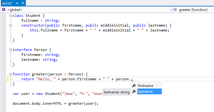 Visual Studio picture
